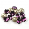 P1644-Swarovski Elements 1088 Amethyst Foiled SS39 8mm 1 buc