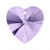 P0567-Swarovski Elements 6228 Violet 14mm-1 buc