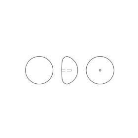 2364-SWAROVSKI ELEMENTS 6428 Tangerine 6mm-1 buc