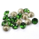 P1677-Swarovski Elements 1088 Fern Green Foiled SS39 8mm