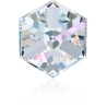 P0527-SWAROVSKI ELEMENTS 4841 Crystal AB CAL VZ 6mm