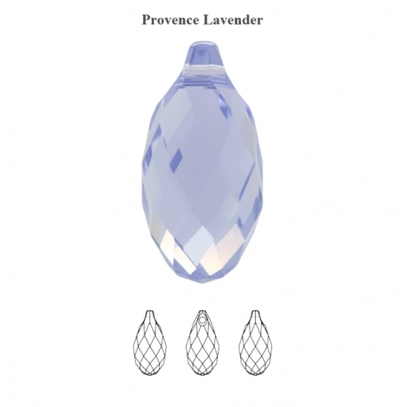 P1697-Swarovski Elements 6010 Provence Lavender 11mm