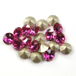 2374-Swarovski Elements 1088 Fuchsia Foiled PP32 ~ 4mm