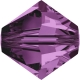 2389-SWAROVSKI ELEMENTS 5328 Amethyst 3mm-1buc