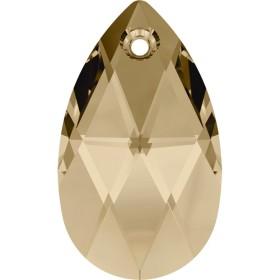2408-SWAROVSKI ELEMENTS 5328 Metallic Light Gold 1X- 6mm-1buc