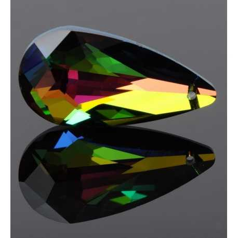 P0627-Swarovski Elements 6100 Crystal Vitrail Medium 24x12mm-1 buc