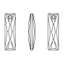 2414-SWAROVSKI ELEMENTS 5328 Crystal Aurore Boreale 2.5mm 1 buc