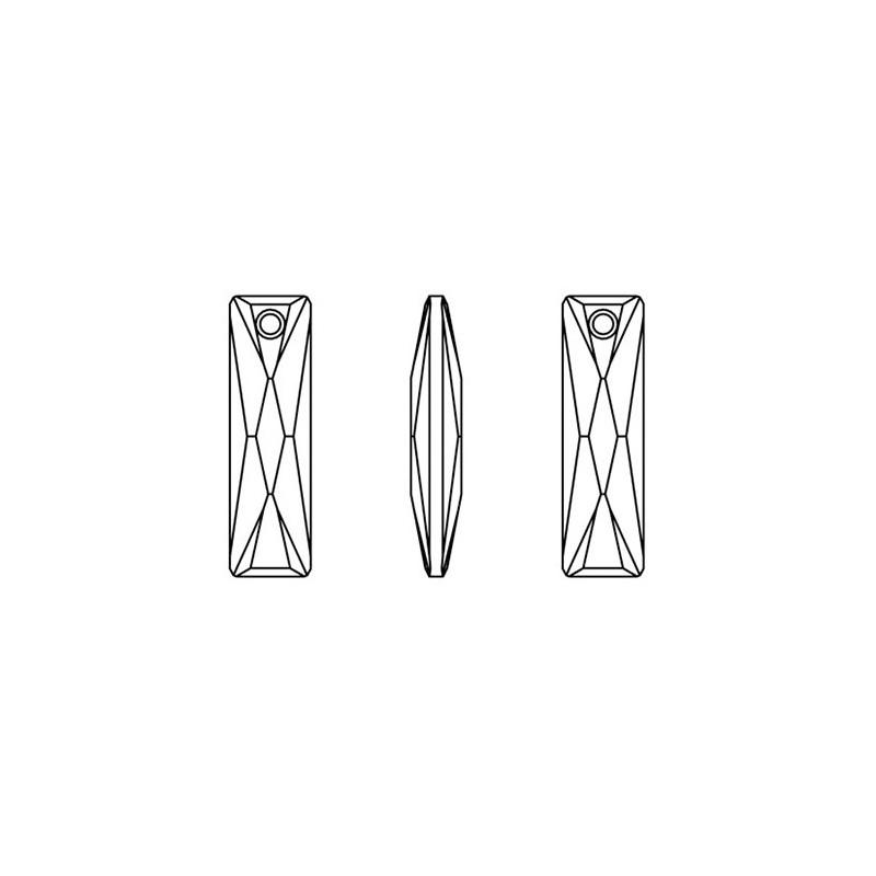 P1727-Swarovski Elements 1188 Crystal Foiled SS39 8mm