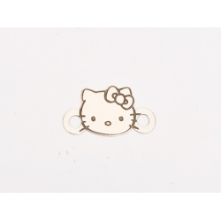 E0184-Link Hello Kitty din argint 925 10x17.5 - 0.33mm-1 buc