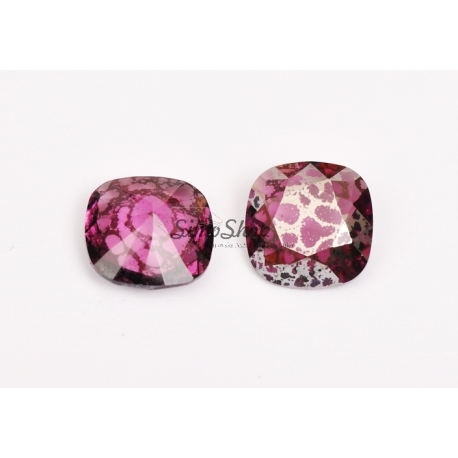 P3236-SWAROVSKI ELEMENTS 4470 Crystal Peony Pink Unfoiled 12mm