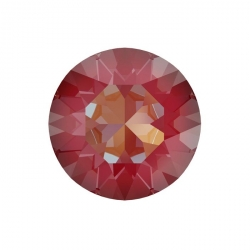 P0027-Swarovski Elements 1088 Royal Red DeLite Unfoiled SS39 8mm
