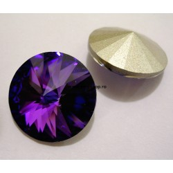 P1762-SWAROVSKI ELEMENTS 1122 Crystal Heliotrope Foiled 14mm