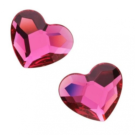 P1763-Swarovski Elements 2808 Fuchsia F 10mm 1 buc