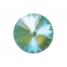 P0062-SWAROVSKI ELEMENTS 1122 Silky Sage DeLite Unfoiled 12mm-1buc