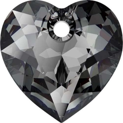 P0088-SWAROVSKI ELEMENTS 6432 Silver Night 8mm-1buc