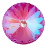 P0106-SWAROVSKI ELEMENTS 1122 Royal Red DeLite Unfoiled 14mm-1buc