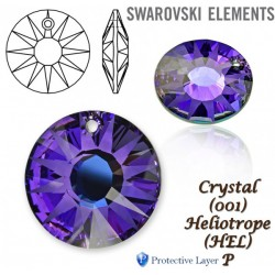 P1795-SWAROVSKI ELEMENTS 6724 Crystal Heliotrope 12mm 1 buc