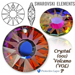 P1799-SWAROVSKI ELEMENTS 6724 Crystal Volcano 12mm 1 buc