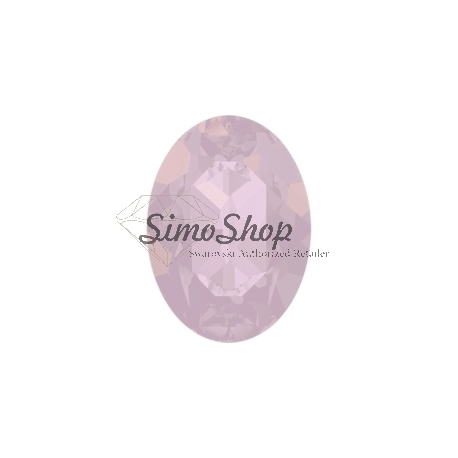 0196-SWAROVSKI ELEMENTS 4120 Rose Water Opal 8x6mm-1buc