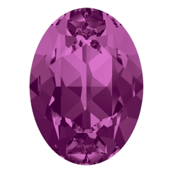 0288-SWAROVSKI ELEMENTS 4120 Fuchsia Foiled 8x6mm-1buc