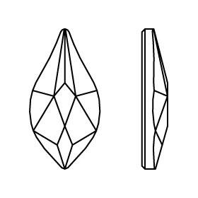 P1823-SWAROVSKI ELEMENTS 2088 Crystal F SS34-7mm 1 buc