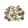 P1837-Swarovski Elements 1088 Smoky Quartz Foiled SS39 8mm