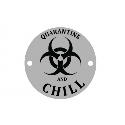 E0490 GS Link din argint de sezon Quarantine and Chill 16.5mm 0.33mm