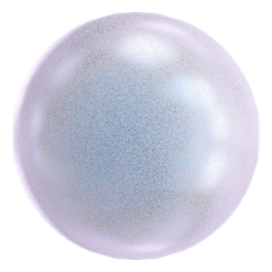 0849-Swarovski Elements 5810 Crystal IR Dreamy Blue Pearl 6mm-1buc
