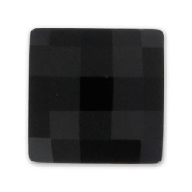 P1888-Swarovski Elements 2493 Chessboard FB Jet 10mm