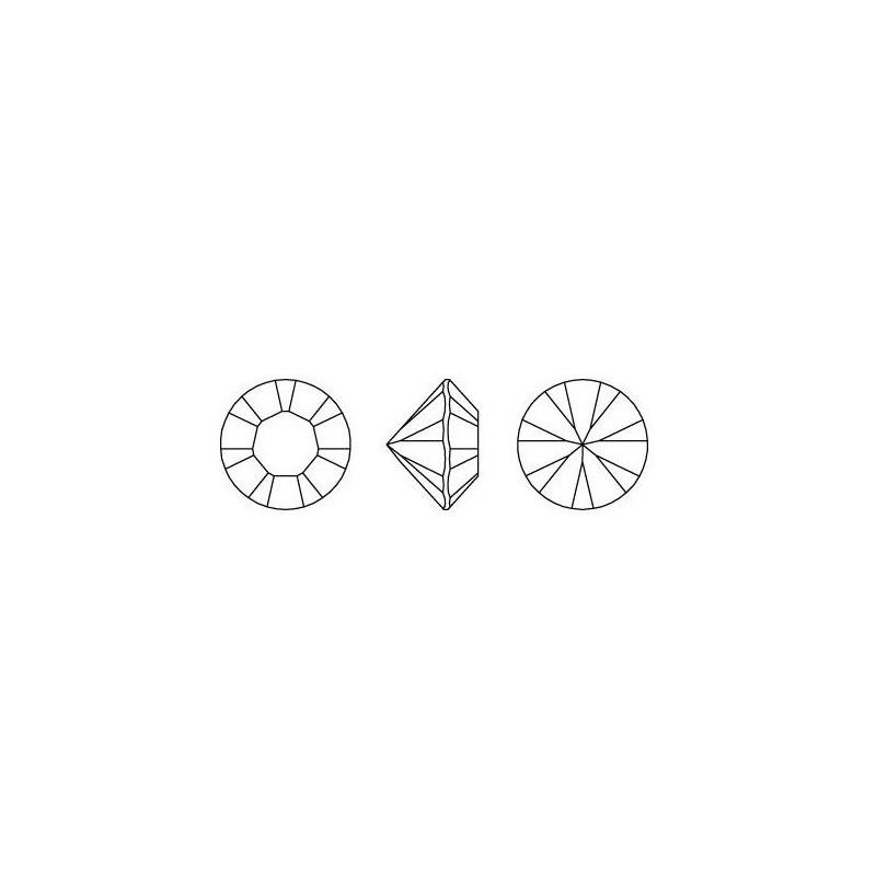 2497-SWAROVSKI ELEMENTS 5328 White Opal Satin 3mm-1buc