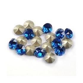 G326-Tije cu platou si bucla pentru Swarovski Rivoli 8mm SS39