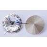 2524-SWAROVSKI ELEMENTS 1122 Crystal Foiled SS34-7mm 1 buc