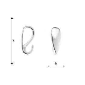 P0754-SWAROVSKI ELEMENTS 6685 Emerald 19mm-1 buc