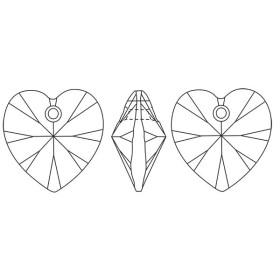 P1976-SWAROVSKI ELEMENTS 4228 Crystal Foiled 15x7mm