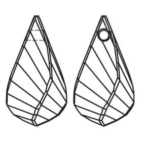 G0395-Cercei lantisor Swarovski Xirius 1088 SS17-PP32-4mm