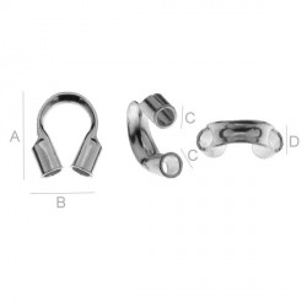 G0501-AG925-Wire guardian argint 925 1 bucata