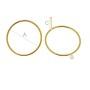 P2079-Swarovski Elements 1088 Crystal Sahara Foiled SS39 8mm