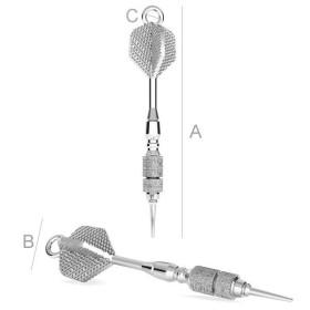 P2113-Swarovski Elements 6106 Crystal Scarabaeus Green 22mm