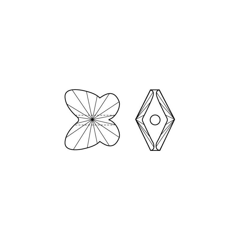 G0574-Ac din argint 925 cu biluta de 1.82mm, lungime 25mm, grosime 0.5mm