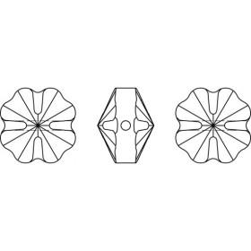 G0579-Cercei cu lantisor pentru Swarovski Butterfly 2854 de 8mm