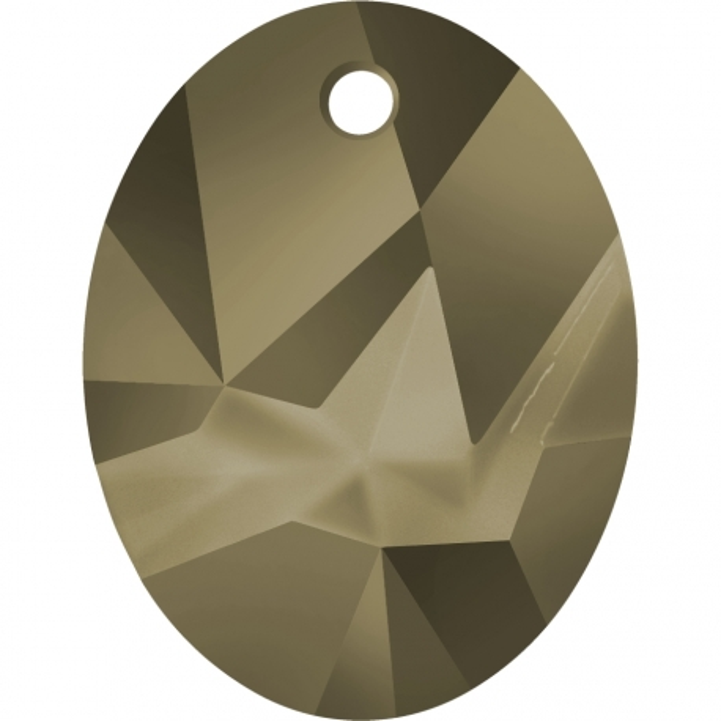 P2133-Swarovski Elements 6911 Metallic Light Gold 36mm