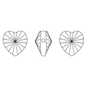 P2137-Swarovski Elements 6911 Crystal Golden Shadow 36mm