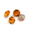 P2158-Swarovski Elements 1088 Tangerine Foiled SS34 7mm 1 buc