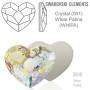 P2198-Swarovski Elements 2493 Chessboard Crystal Shade HF 10mm