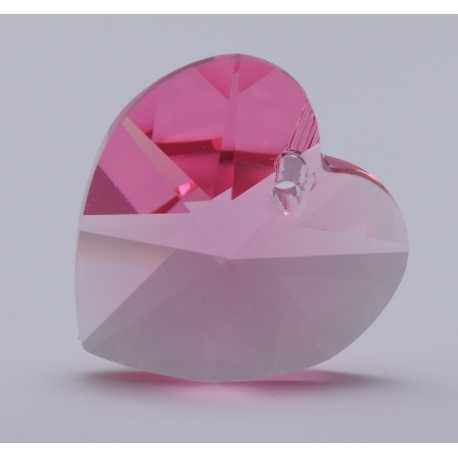 P0761-Swarovski Elements 6228 Rose 10mm-1 buc