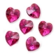 P0798-Swarovski Elements 6228 Fuchsia 14mm-1 buc