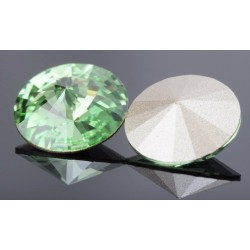 P0817-SWAROVSKI ELEMENTS 1122 Peridot Foiled 12mm-1buc