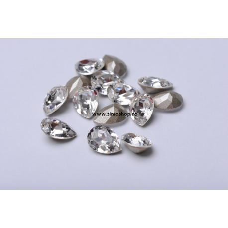 P2298-Swarovski Elements 4320 Crystal Foiled 14x10mm 1 buc