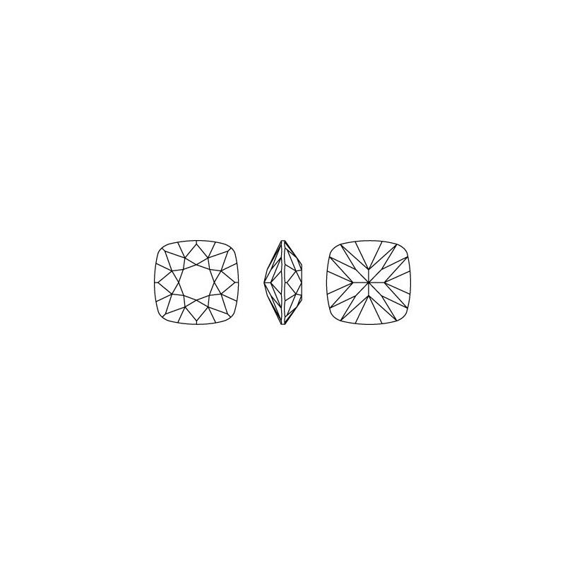 G0738-Baza pandant 3 bucle pentru Swarovski Heart 2808 de 10mm