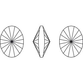 G0745-Baza pandant 3 bucle pentru Swarovski Butterfly 2854 12mm